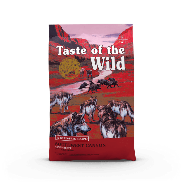 Taste Of The Wild Southwest Canyon Canine Recipe with Wild Boar Dog Food