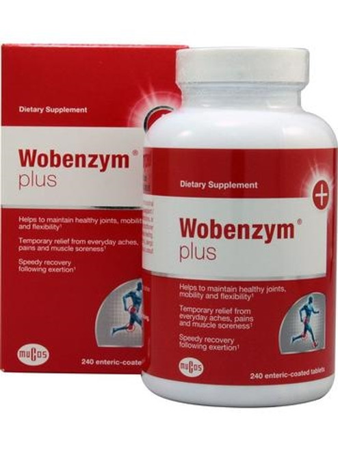 Wobenzym Plus 240 count