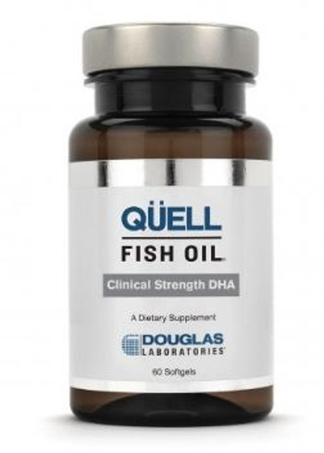 QUELL FISH OIL Clinical Strength DHA