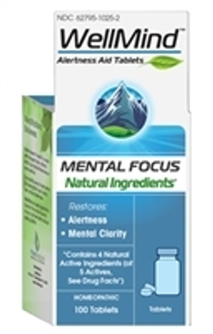 WellMind Mental Focus Tablets