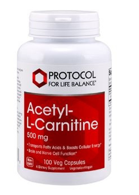 ACETYL L-CARNITINE 500MG   100 VCAPS