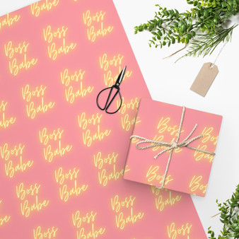 Boss Babe Wrapping Paper