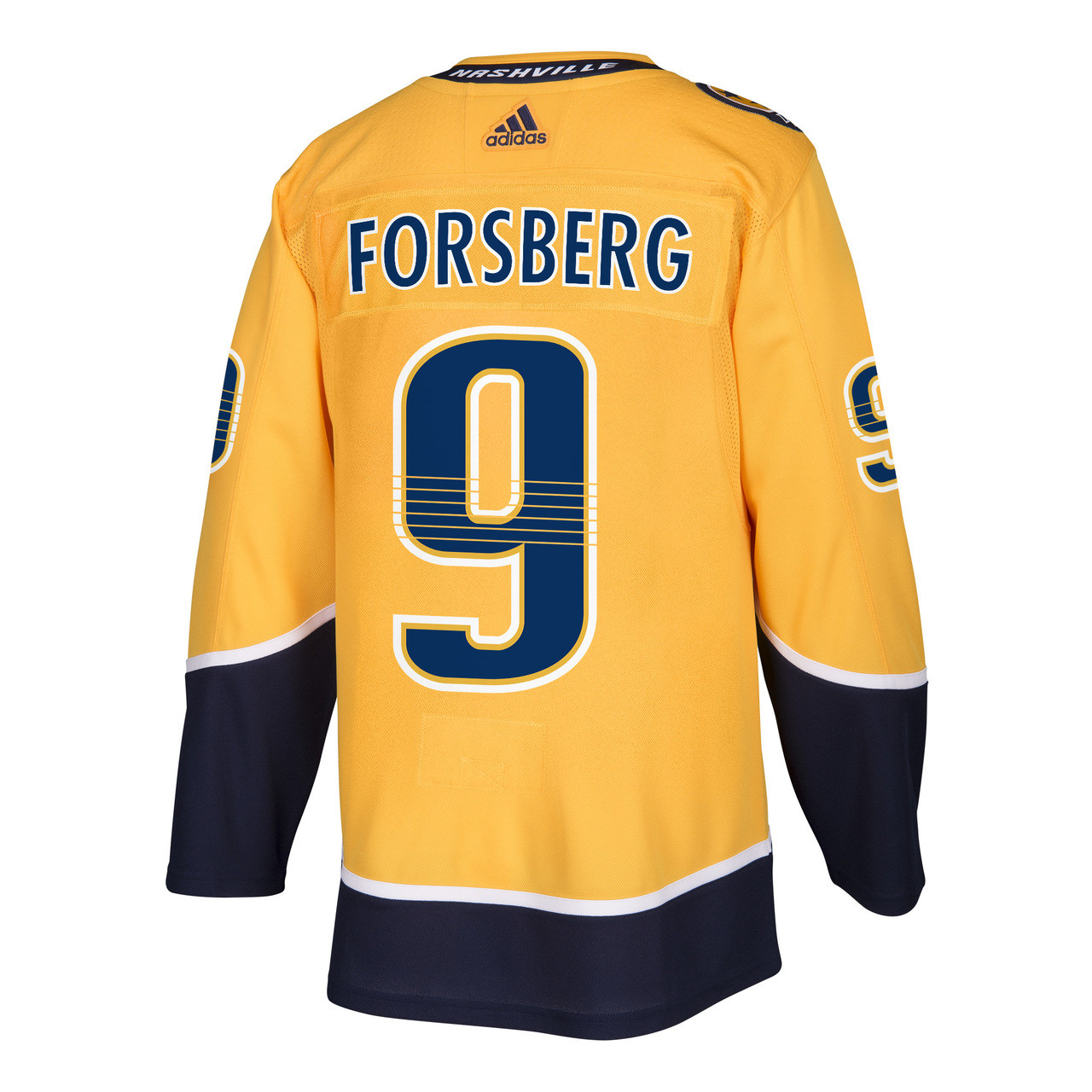 new styles c76bd 235fe Nashville Predators Adidas Authentic Filip Forsberg Jersey Home/Gold