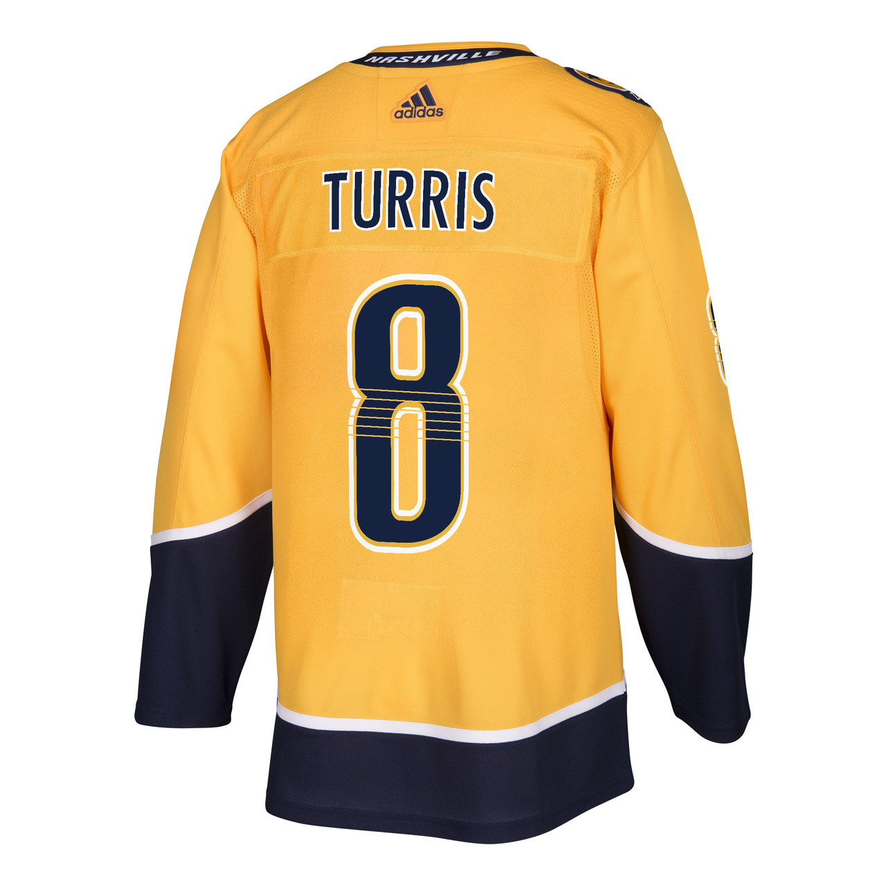 check out 13402 e607f Nashville Predators Adidas Authentic Kyle Turris Jersey Home/Gold