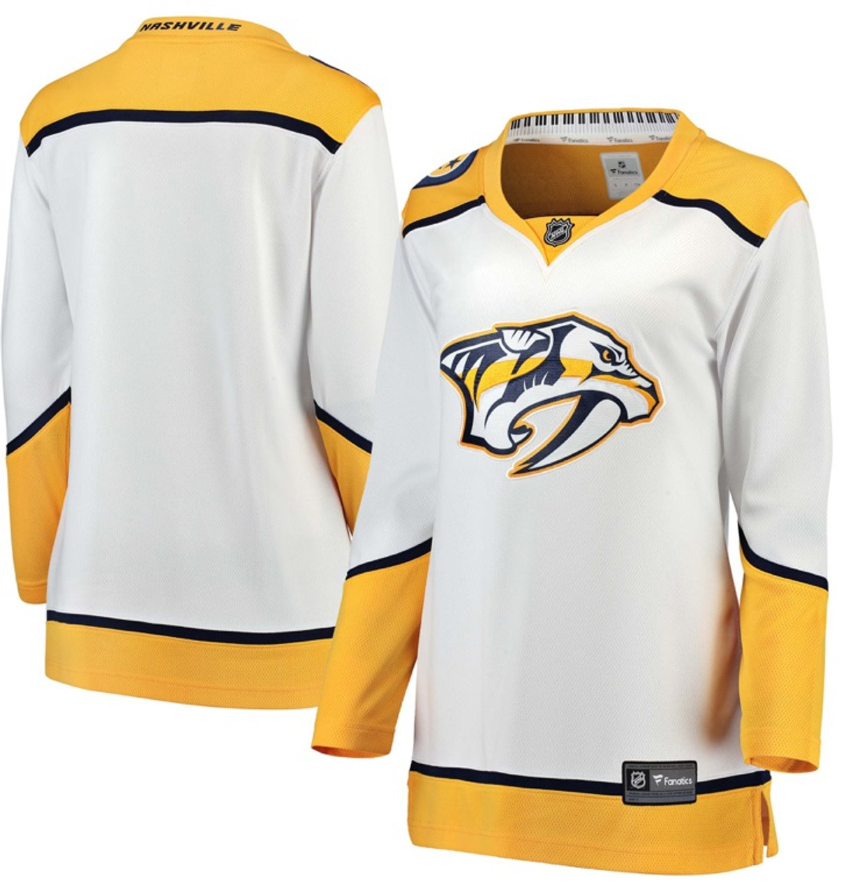 Nashville Predators Jersey Fanatics Women s Breakaway- Road White ... 4b3668810