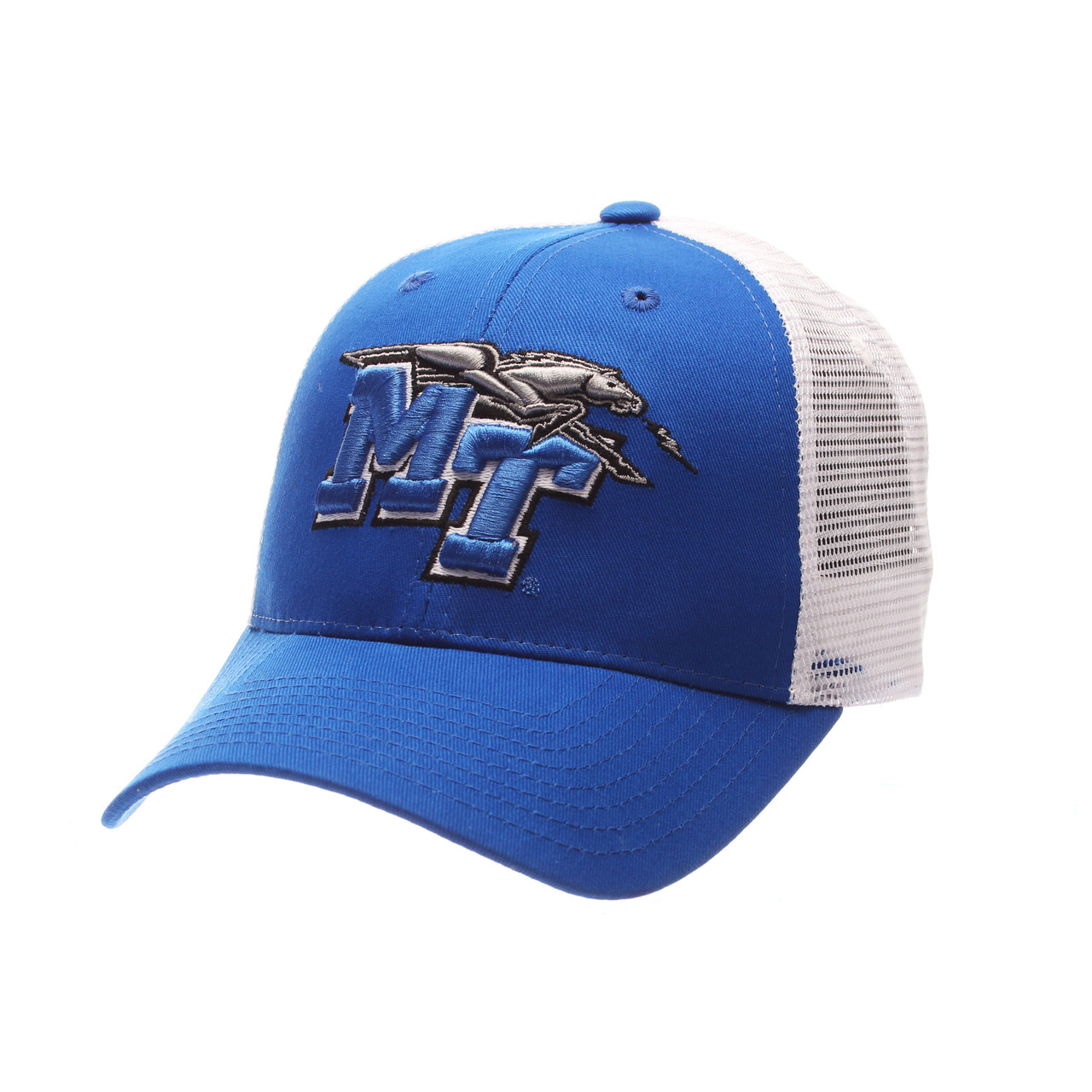 a6a729277885f Middle Tennessee State Men s Zephyr Adjustable Trucker Hat ...