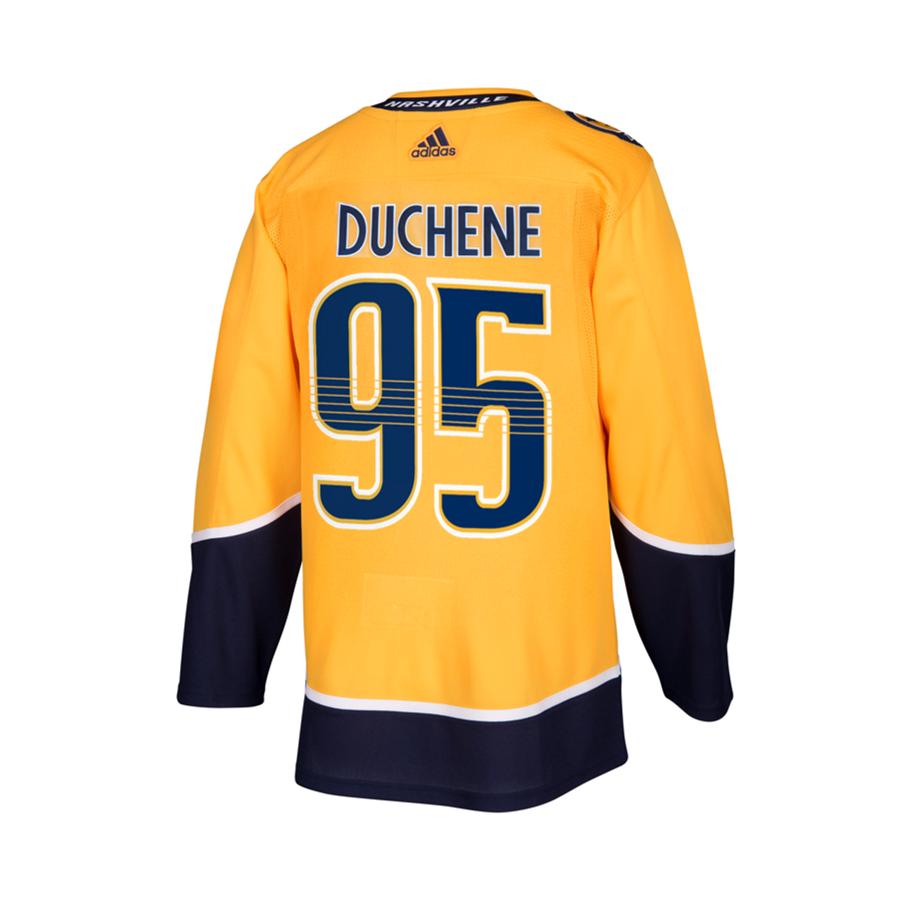Nashville Predators Adidas Authentic Duchene Jersey Home/Gold