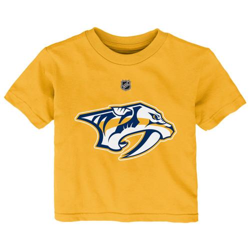 the latest 3d26f 694e2 Nashville Predators Outerstuff Toddler Roman Josi Name and Number T- Shirt