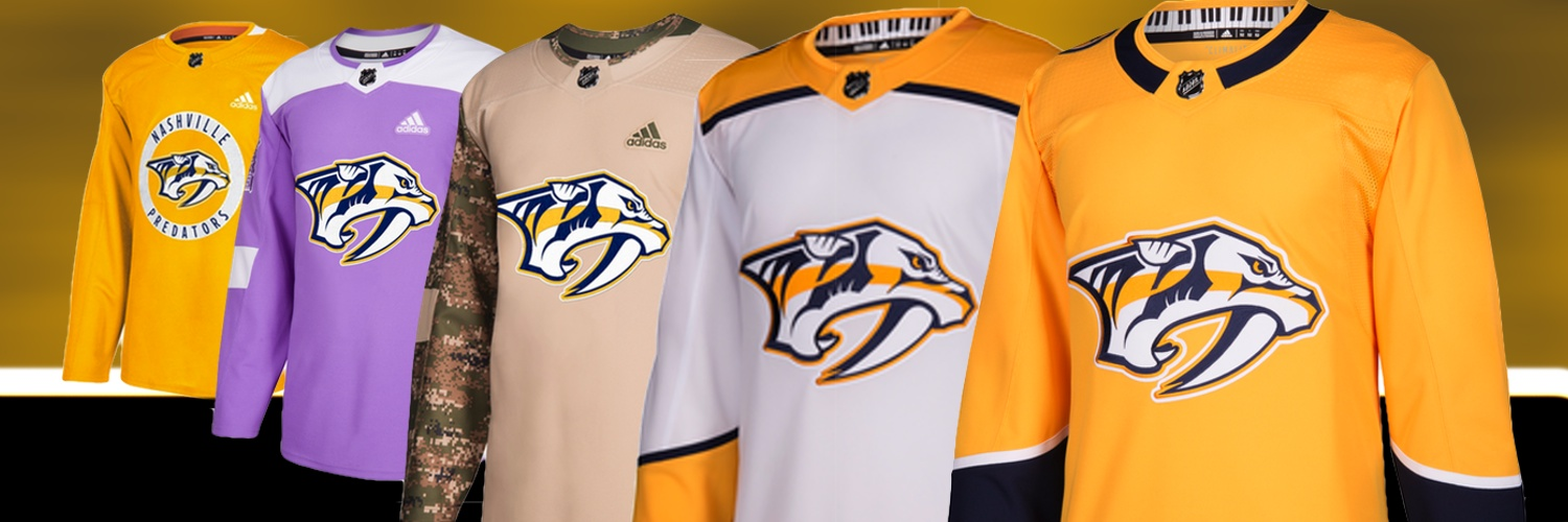 Nashville Predators Locker Room Jerseys   Gear  419b159e1
