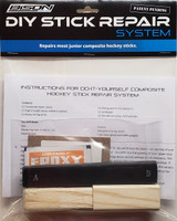 Junior Hockey Stick Repair System - Do-It-Yourself Stick Repair System from Bison Hockey Sticks