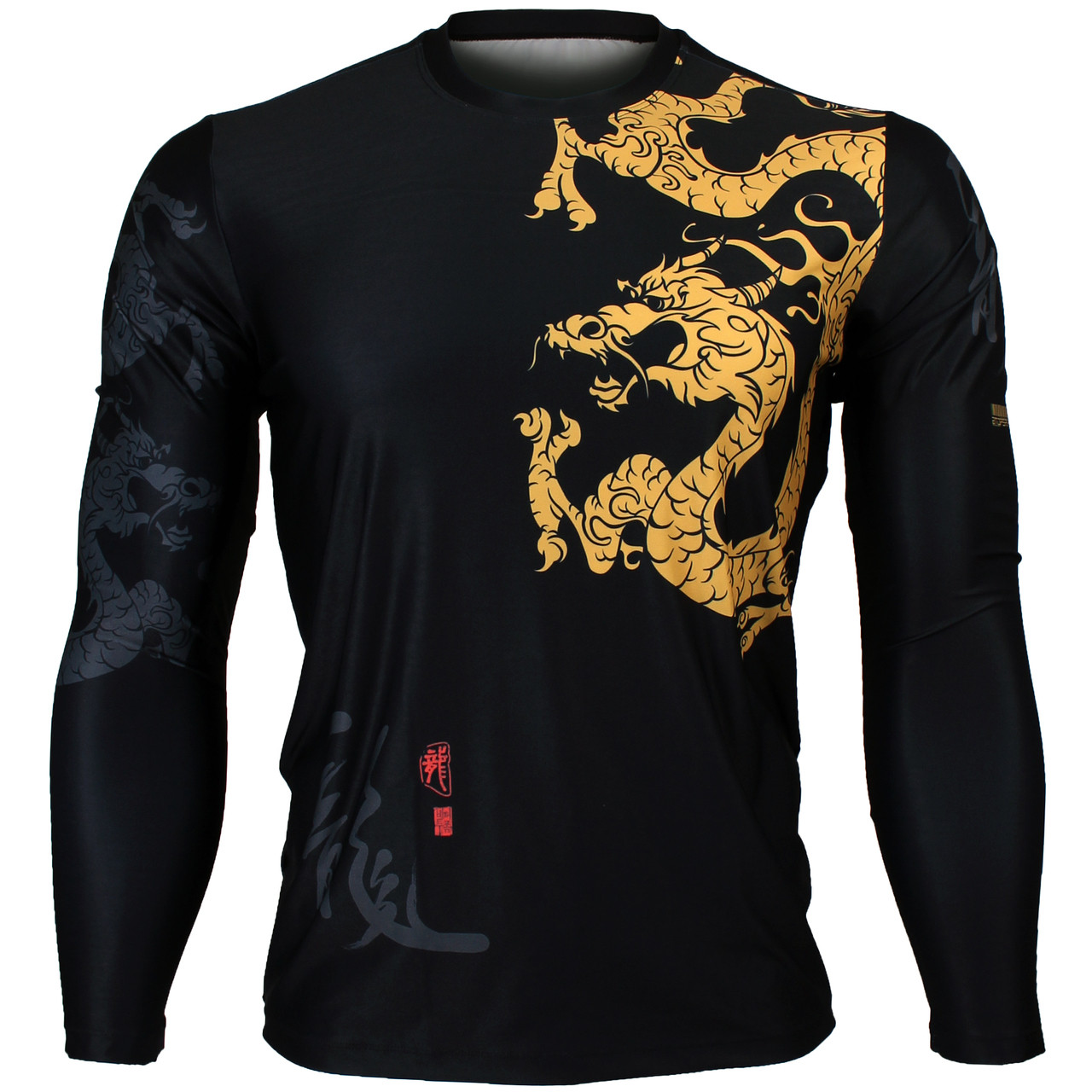 c6481f3c63b1 Shop by Brand. BTOPERFORM · View all Brands · Home · Shop by Design ·  Animal · GOLDEN DRAGON [FR-164] Full graphic Loose-fit Long sleeve Crew ...