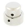Stacked Metal Dome Knob Set for Guitar & Bass-Chrome