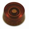 Speed Knob with Fine Splines-Amber