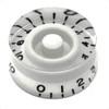 Speed Knob with Fine Splines-White