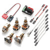 EMG 1-2 Pickup Solderless Electronics Conversion Kit-Long