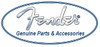 Fender Classic Celluloid Heavy Guitar Pick-White