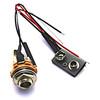 """EMG 1/4"""" Output Jack & Battery Connector"""
