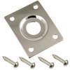 Rectangular Metal Jack Plate-Nickel