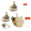 5-Way Lever Switch Guitar Electronics Kit w/ CTS Pro Pots-500K