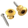 Strap Button Set for Dunlop Strap Lock System-Gold