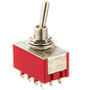 2-Way 4-Pole On/On Mini Toggle Switch