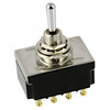 3-Way 4-Pole On/On/On Mini Toggle Switch