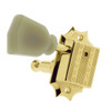Grover Deluxe 135 Series Gibson Style 3x3 Guitar Tuning Key-Gold