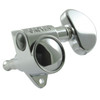 Grover Rotomatic 3x3 Guitar Tuning Key-Chrome