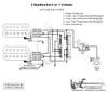 2 Humbuckers/5-Way Lever Switch/1 Volume/06