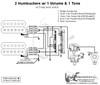 2 Humbuckers/5-Way Lever Switch/1 Volume/1 Tone/06