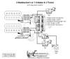 2 Humbuckers/5-Way Lever Switch/1 Volume/2 Tones/01