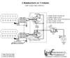 2 Humbuckers/5-Way Rotary Switch/1 Volume/02