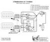 2 Humbuckers/5-Way Rotary Switch/1 Volume/06