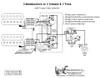 2 Humbuckers/5-Way Rotary Switch/1 Volume/1 Tone/03