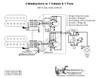 2 Humbuckers/5-Way Rotary Switch/1 Volume/1 Tone/05