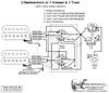 2 Humbuckers/5-Way Rotary Switch/1 Volume/1 Tone/06