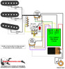 Strat w/ Eric Clapton Mid Boost Circuit & TBX Tone Control