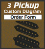 3 Pickup Custom Guitar Wiring Diagram Order Form