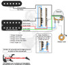 1 Humbucker/1 Single Coil/5-Way Switch/1 Volume/01