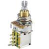 500K Linear Guitar Pot w/ Push-Push Switch