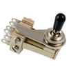 Switchcraft 3-Way Right Angle Double Neck Toggle Switch