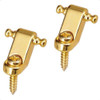 Fender American Standard String Retainer Guides-Gold