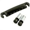 Gotoh Stop Tailpiece w/ Metric Thread Studs-Black