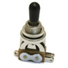 Electromatic 3-Way Guitar Toggle Switch-Chrome