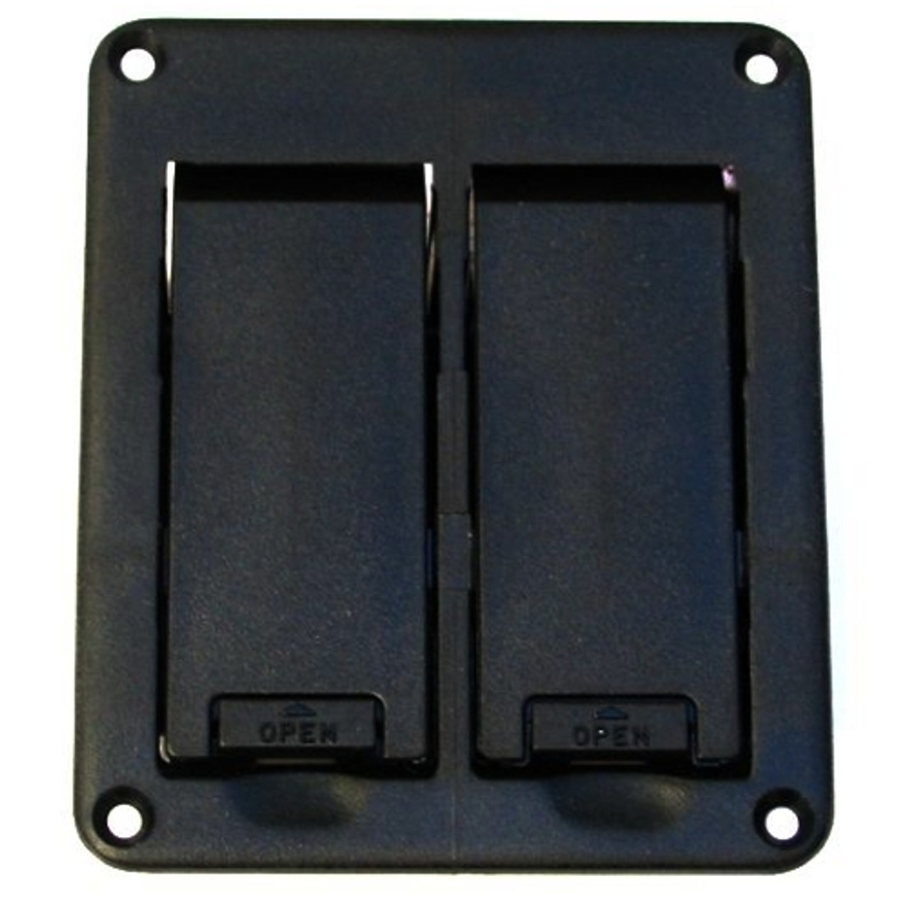 Dual Battery Box Top View