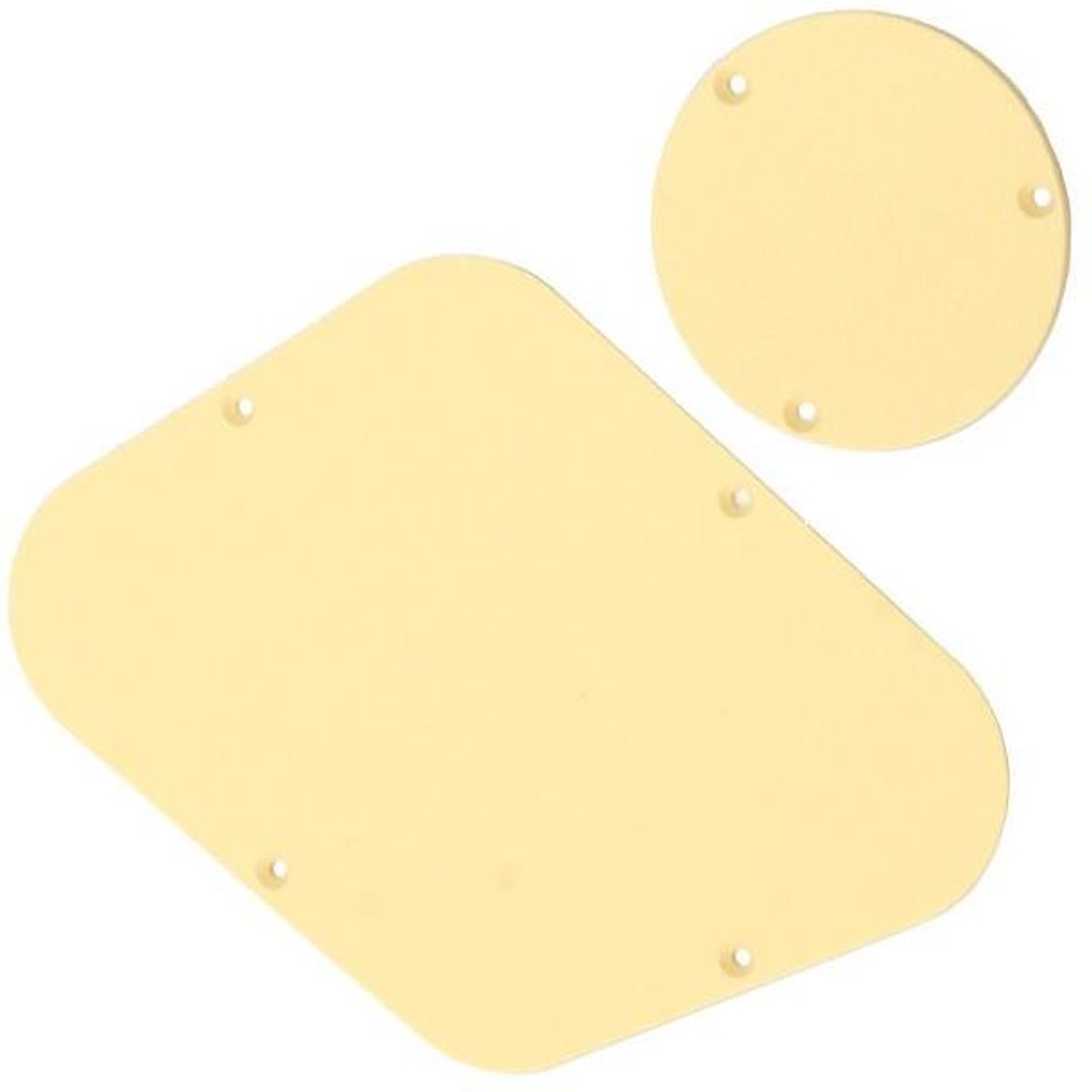 Les Paul Back Plate & Switch Cover Set-Cream