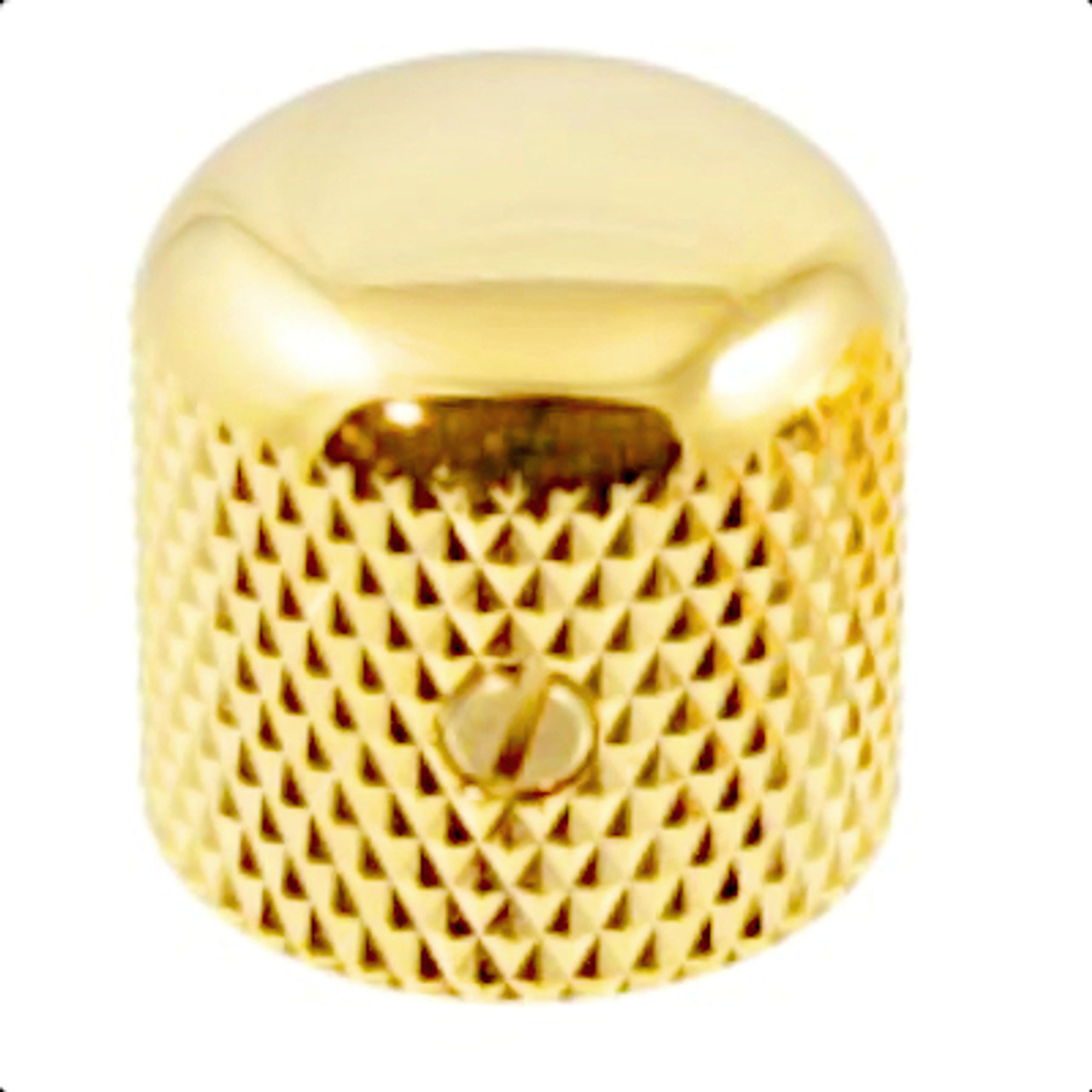 Dome Top Knob for Guitar & Bass-Gold