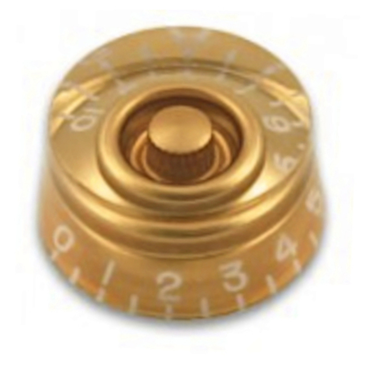 Speed Knob with Coarse Splines-Gold