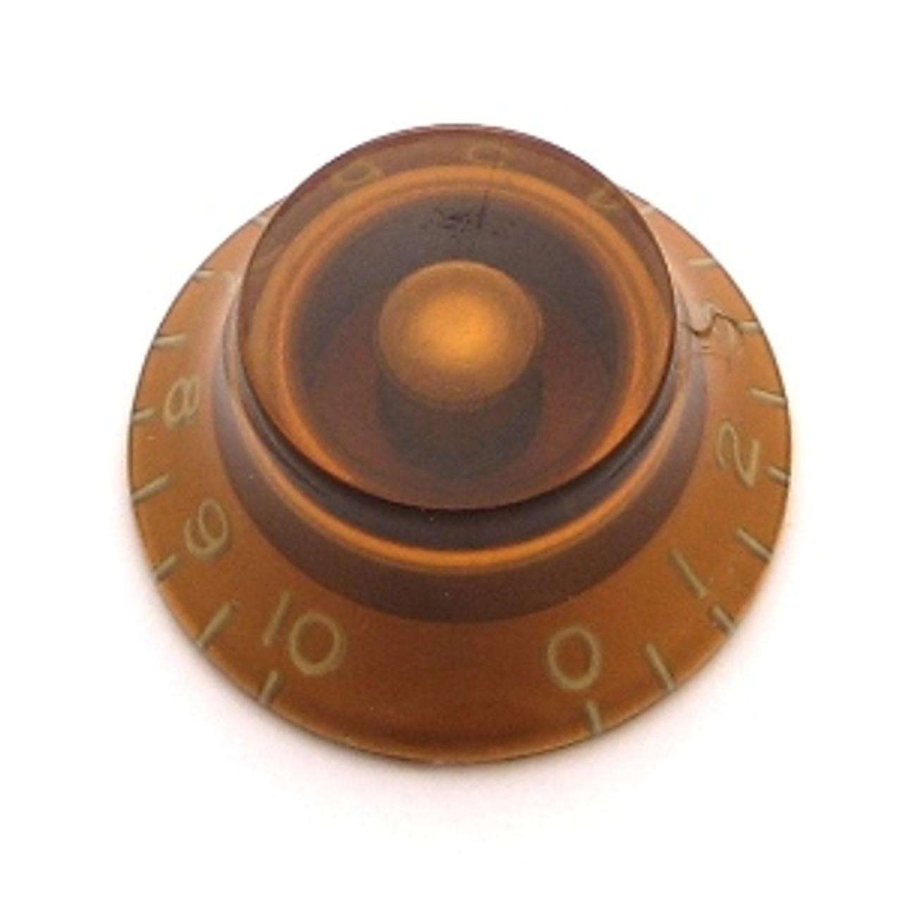 Bell Knob w/ Fine Splines-Amber