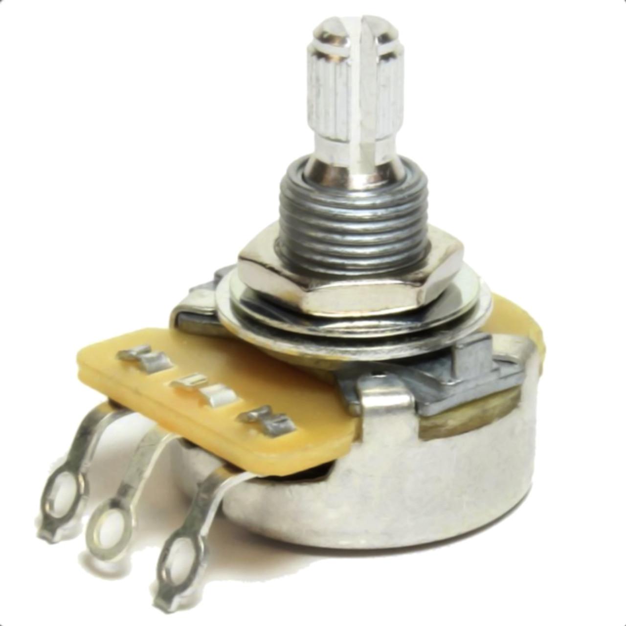 CTS 500K Reverse Audio Taper/Lefty Volume & Tone Guitar Pot